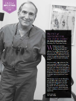 Dr. John Cretzmeyer featured in Mpls. St. Paul Magazine