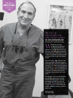 Dr. John Cretzmeyer featured in Mpls. St. Paul Magazine