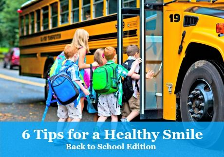 6 tips for a Healthy Smile