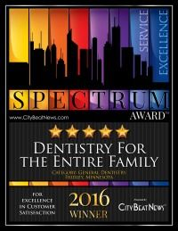 Dentistry for the Entire Family receives Spectrum Award