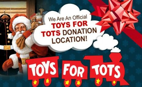 Dentistry for the Entire Family is a Toys for Tots Toy Drive drop off site