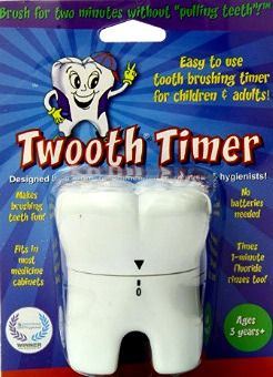 Twooth tooth brushing timer for kids