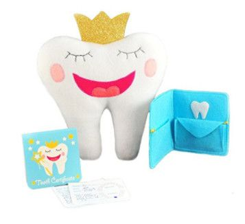 3 piece tooth fairy pillow set