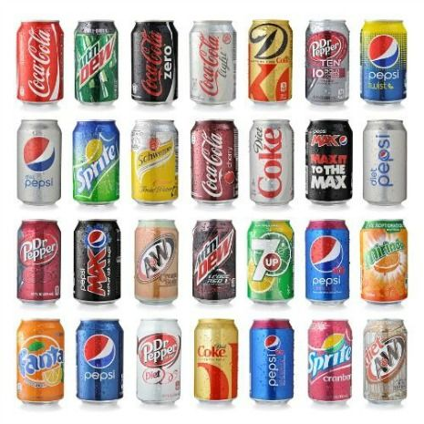 Soft drinks can cause sensitive teeth