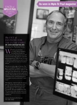 Doctor John Cretzmeyer featured in Mpls St. Paul Magazine