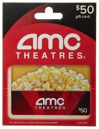 Enter to win a $50 gift card to AMC movie theatres.