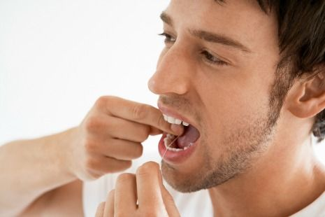 Dental flossing helps prevent gingivitis