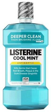 Rinsing mouth with Listerine can help prevent cavities.