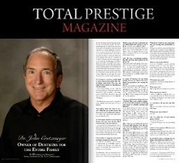 John Cretzmeyer featured in Total Prestige Magazine