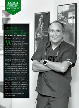 Dentist John Cretzmeyer featured in 2018 MSP magazine Faces of Places